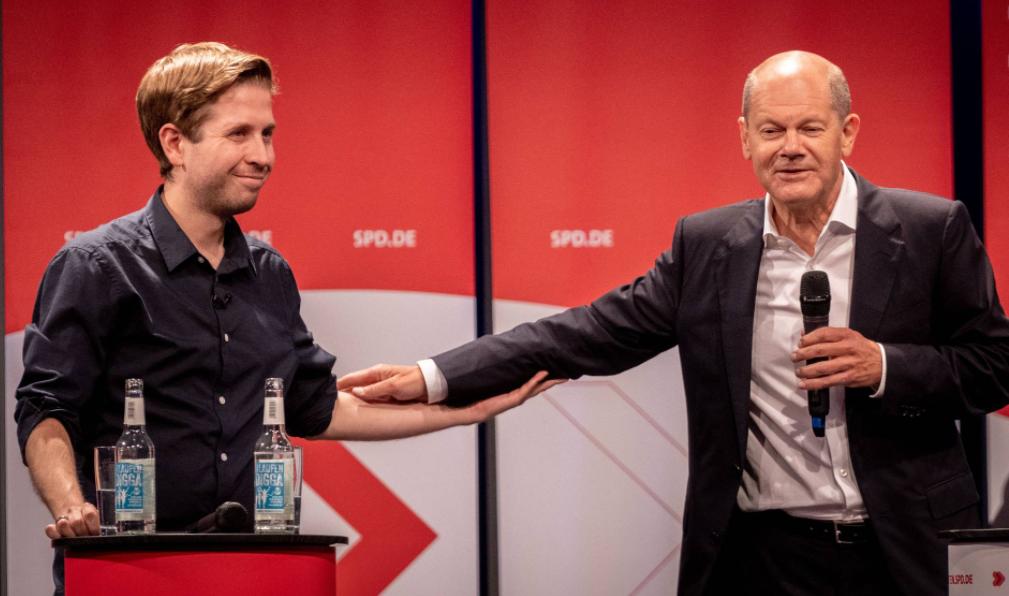 2021.09.20 Lunch mit Kevin Kühnert (online)